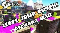 Splatoon - Naughty ledge jump glitch (Arowana Mall)