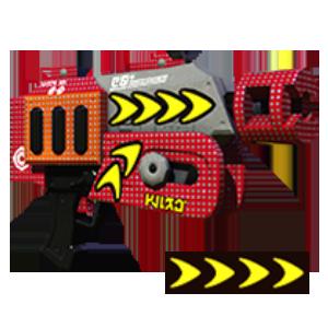 Turbo-Blaster Deko