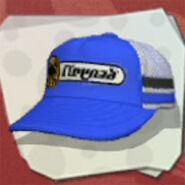 Headgear 2-Stripe Mesh Cap