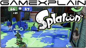 Splatoon - Splat Zones Multiplayer Gameplay (1080p60fps - Wii U)