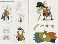 Concept Art - Cap'n Cuttlefish