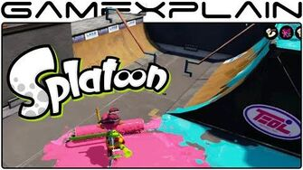 Splatoon - Turf War on Blackbelly Skatepark (1080p60fps - Multiplayer Gameplay)