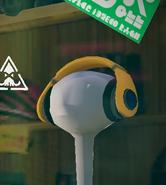 Designer headphones in cooler heads