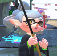 Splatoon 2 Marie Shocked