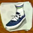 Shoes Blue Lo-Tops