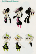 Concept Art - Callie and Marie