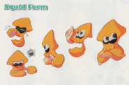 Concept Art - Inkling Squid Form