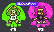 S2 Splatfest Squid vs Octopus JP