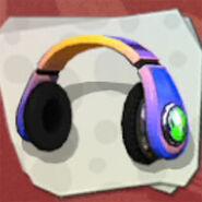 Headgear Colorful Headphones