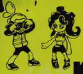 Octoling and Inkling boy in Credits.png