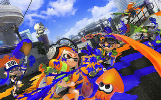 Splatoon cover mischia mollusca