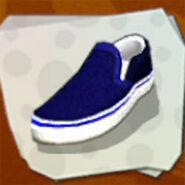Shoes Blue Plimsolls