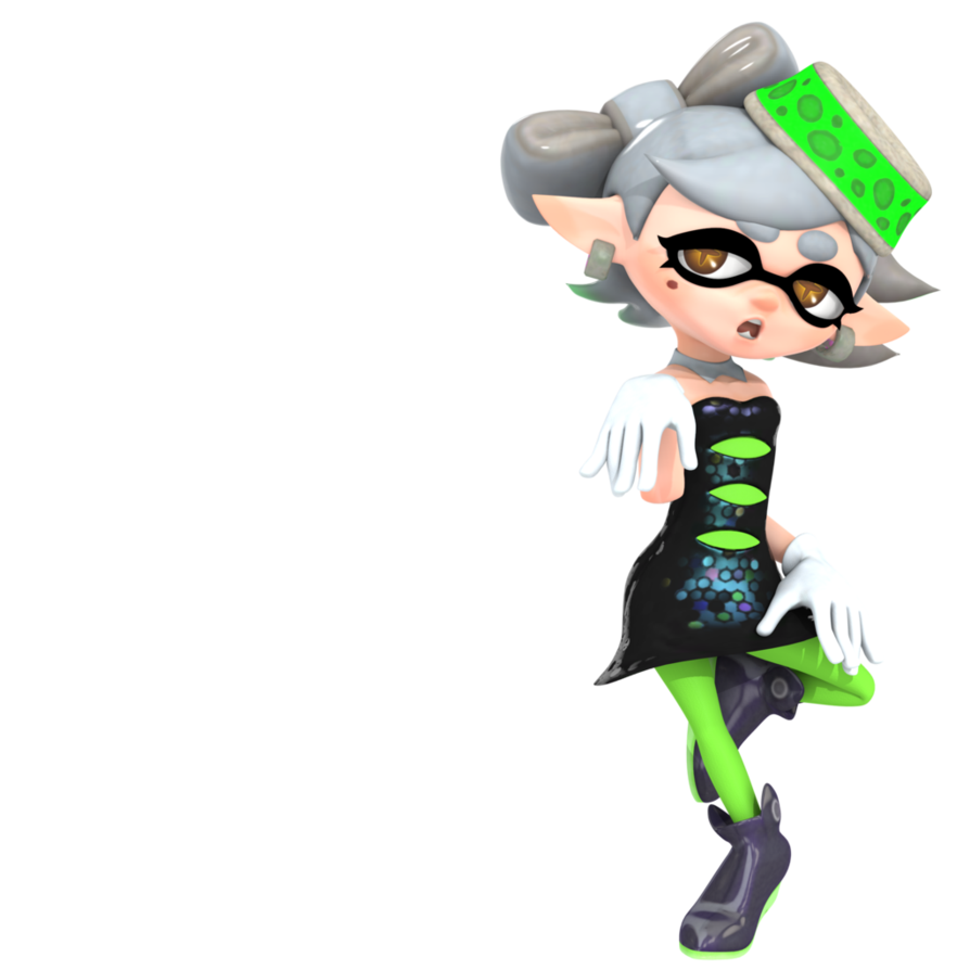 image splatoon marie render by nibroc rock d9w653x png splatoon
