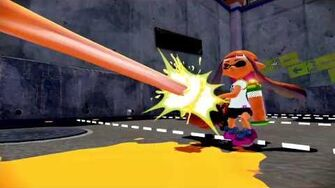 Splatoon - Splatling Gameplay Video Wii U HD