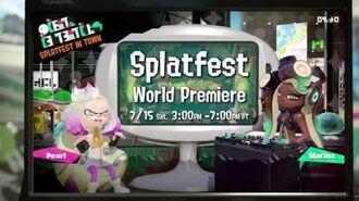 Splatfest Demo Coming BEFORE Splatoon 2's Release - Cake vs Ice Cream!-1