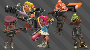 Octo Expansion multiplayer weapons