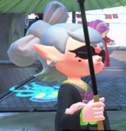 Splatoon 2 Marie Serious