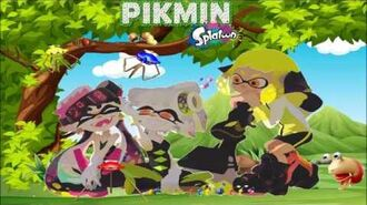 SQUIDS AND PIKMIN?! (Splatoon Pikmin Universe Theory)