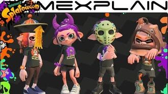 Halloween Comes to Splatoon 2! Trick vs. Treat Splatfest Spooky Costumes (Splatoween!)
