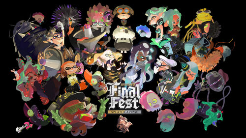 S2 Splatfest Chaos vs. Order Artwork