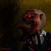 Splendorman s rage by xxlevanaxx-d5y6m7f