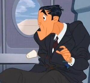 Guy in plane