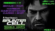 Splinter Cell Double Agent PS2 PCSX2 HD JBA – Миссия 10 Борт – Гавань. Вашингтон