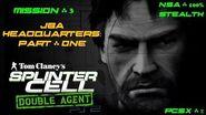 Splinter Cell Double Agent PS2 PCSX2 HD NSA – Миссия 3 Штаб-квартира JBA – Часть первая