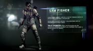 Equipo Blacklist - Sam Fisher