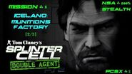 Splinter Cell Double Agent PS2 PCSX2 HD NSA – Миссия 1 Исландия – Фабрика боеприпасов (2 3)