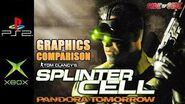 Splinter Cell Pandora Tomorrow Graphics Comparison ( PS2 , XBOX )