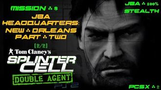 Splinter Cell Double Agent PS2 PCSX2 HD JBA – Миссия 8 Штаб-квартира JBA – Двойной агент (2 2)