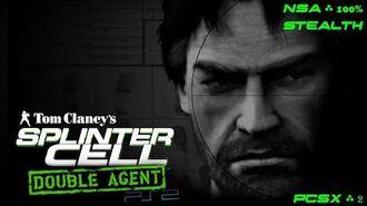 Splinter Cell Double Agent PS2 PCSX2 HD Полное прохождение за NSA АНБ – Все миссии Full Extended