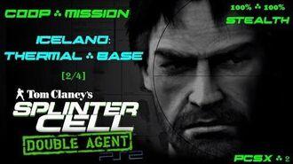 Splinter Cell Double Agent Coop PS2 PCSX2 HD Прохождение – Миссия 1 Исландия – Терм. база (2 4)