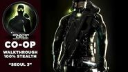 Splinter Cell 3 Chaos Theory Coop PS2 PCSX2 HD Прохождение – Миссия 1 Сеул