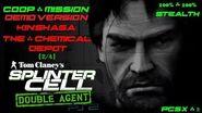 Splinter Cell Double Agent Coop PS2 PCSX2 HD Demo – Миссия 3 Киншаса – Склад химикатов
