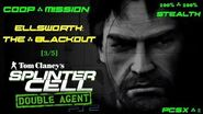 Splinter Cell Double Agent Coop PS2 PCSX2 HD Прохождение – Миссия 2 Элсворт – Затмение (3 5)