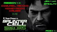 Splinter Cell Double Agent PS2 PCSX2 HD JBA – Миссия 5 Консумель