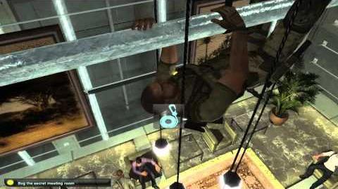 Mission 9 Kinshasa - Hard - Splinter Cell Double Agent Walkthrough HD