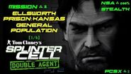 Splinter Cell Double Agent PS2 PCSX2 HD NSA – Миссия 2 Тюрьма Элсворт – Общее население (1 4)