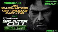 Splinter Cell Double Agent PS2 PCSX2 HD NSA – Миссия 8 Штаб-квартира JBA – Двойной агент (2 2)