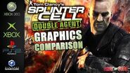 Splinter Cell Double Agent Graphics Comparison ( Xbox360 , Xbox , Gamecube , Ps2 )