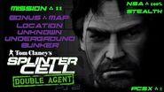 Splinter Cell Double Agent PS2 PCSX2 HD NSA – Миссия 11 Подземный бункер – Неизвестно