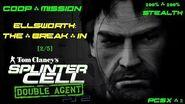 Splinter Cell Double Agent Coop PS2 PCSX2 HD Прохождение – Миссия 2 Элсворт – Прорыв (2 5)