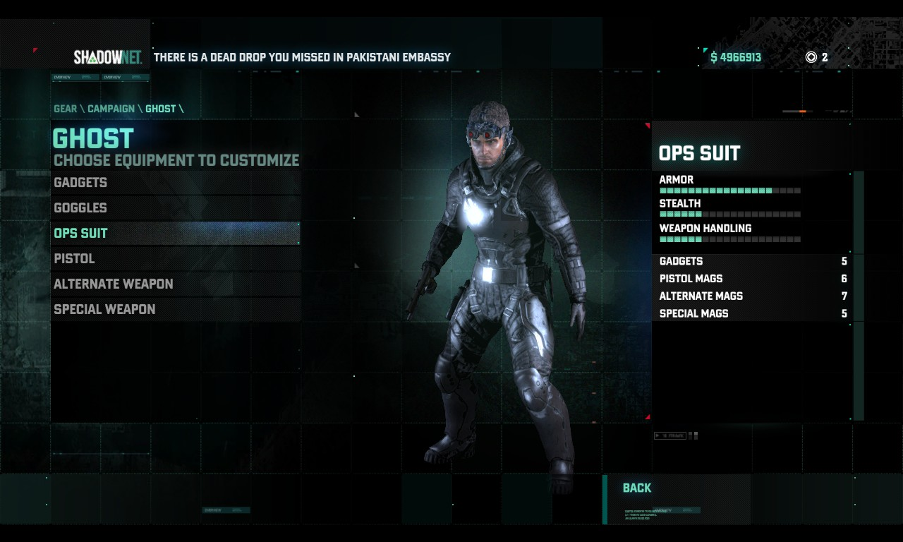Revanant Suit Splinter Cell Wiki Fandom Powered By Wikia