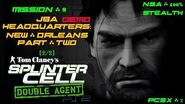 Splinter Cell Double Agent PS2 PCSX2 HD NSA – Демо 8 Штаб-квартира JBA – Двойной агент (2 2)