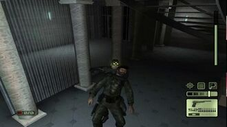 Splinter Cell 1 PS2 PCSX2 HD Walkthrough Прохождение – Миссия 3 Министерство обороны (2 2)