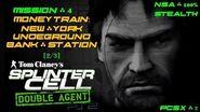 Splinter Cell Double Agent PS2 PCSX2 HD NSA – Миссия 4 Поезд