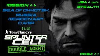 Splinter Cell Double Agent PS2 PCSX2 HD JBA – Миссия 6 Охотск. Россия – Лагерь наемников (1 2)