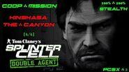 Splinter Cell Double Agent Coop PS2 PCSX2 HD Прохождение – Миссия 3 Киншаса – Каньон (4 4)